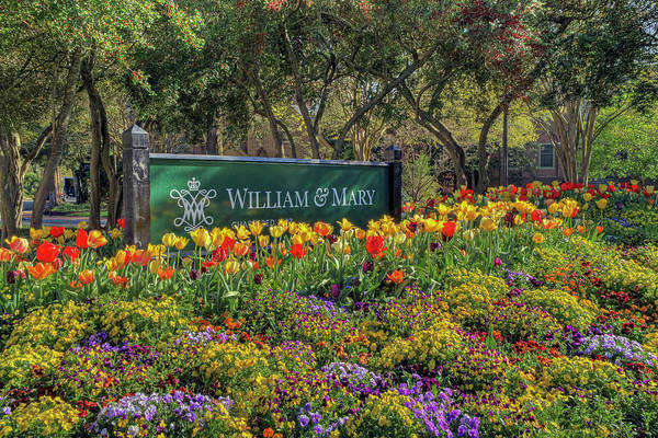 Photograph - College Corner At William And Mary by Jerry Gammon