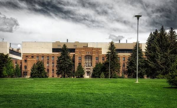 Laramie Photograph - College Of Architecture - University Of Wyoming by Mountain Dreams