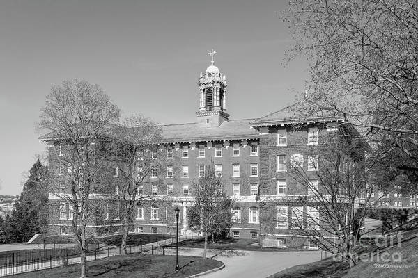 Photograph - College Of The Holy Cross Alumni Hall by University Icons