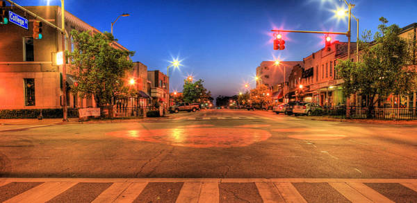 Toomer Wall Art - Photograph - College Street by JC Findley