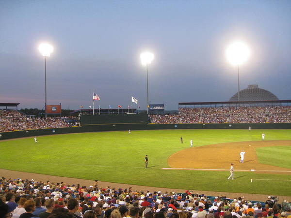 College Baseball Photograph - College World Series 2010 by Kimber  Butler