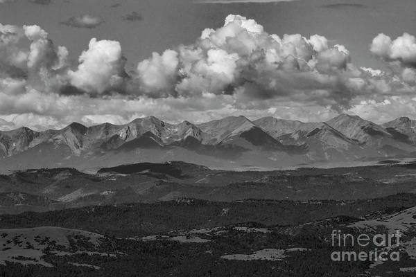 Photograph - Collegiate Peaks by Steve Krull