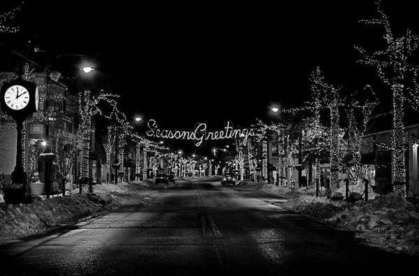 Photograph - Collingswood Christmas by Shawn Colborn