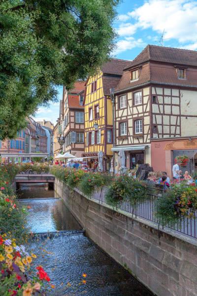 Alsace Wall Art - Photograph - Colmar France by W Chris Fooshee