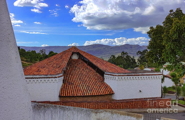 Guatavita Wall Art - Photograph - Colombia - Typical Guatavita Architecture In Andes Town by Devasahayam Chandra Dhas