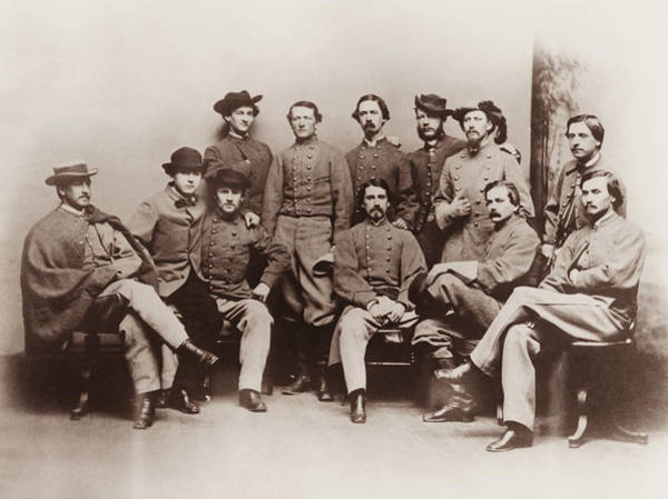 Between Photograph - Colonel John Mosby - Mosby's Rangers Photo - Civil War by War Is Hell Store