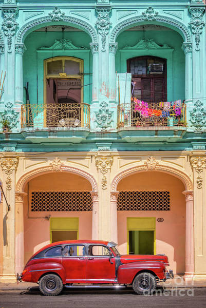 Cuba Photograph - Colonial Architecture by Delphimages Photo Creations
