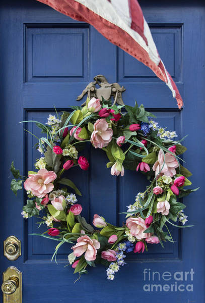 Lewes Photograph - Colonial Door by John Greim