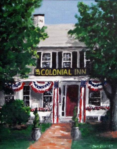 Wall Art - Painting - Colonial Inn by Jack Skinner