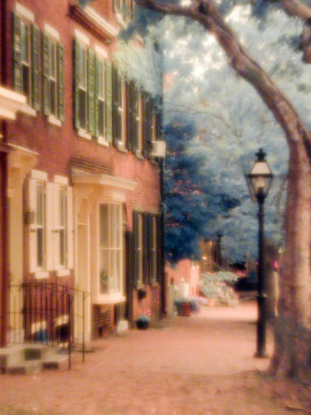 Colonial Old New Castle Art Print