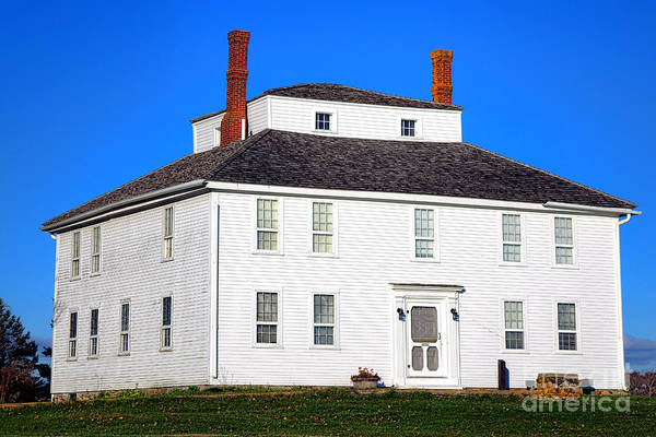 Wall Art - Photograph - Colonial Pemaquid Fort House by Olivier Le Queinec