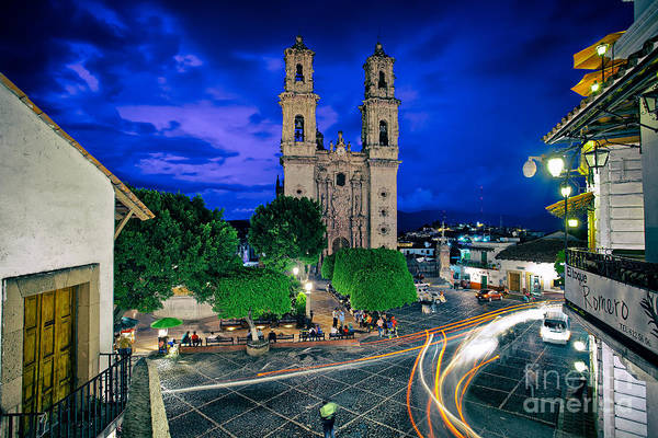 Colonial Town Of Taxco, Mexico Art Print