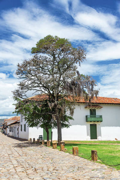Boyaca Photograph - Colonial Villa De Leyva View by Jess Kraft