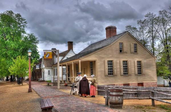 Williamsburg Photograph - Colonial Williamsburg 5 by Todd Hostetter