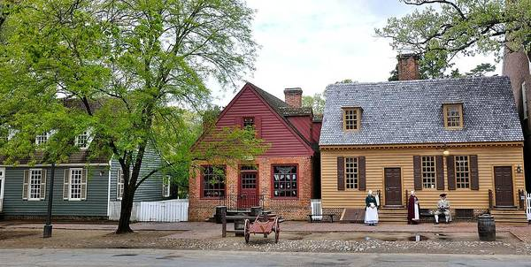 Williamsburg Photograph - Colonial Williamsburg 9 by Todd Hostetter