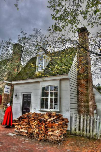 Colonial Williamsburg Photograph - Colonial Williamsburg House 2 by Todd Hostetter