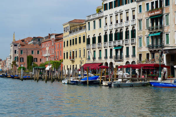 Photograph - Color And Boats Of Venice by Chris Alberding