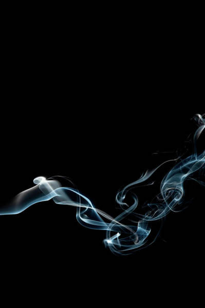 Abstract Smoke Photograph - Color And Smoke Vi by Scott Norris