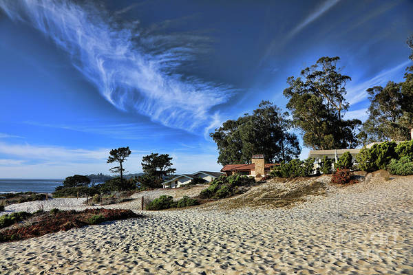 Carmel By The Sea Photograph - Color Carmel Sand Shores California  by Chuck Kuhn