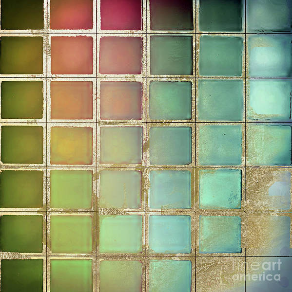 Wall Art - Painting - Color Chart Olives And Greens by Mindy Sommers