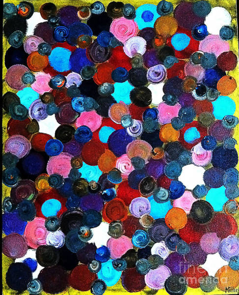 Michael Miller Wall Art - Painting - Color Circles by Michael Miller