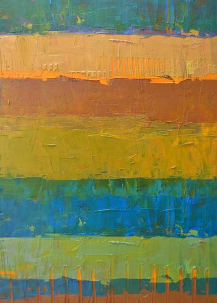 Painting - Color Collage Three by Michelle Calkins