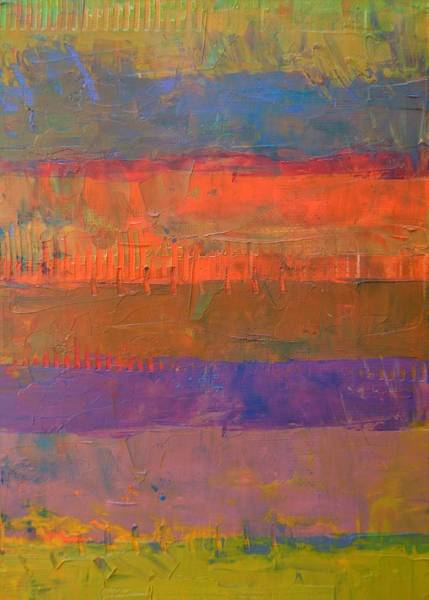 Painting - Color Collage Two by Michelle Calkins