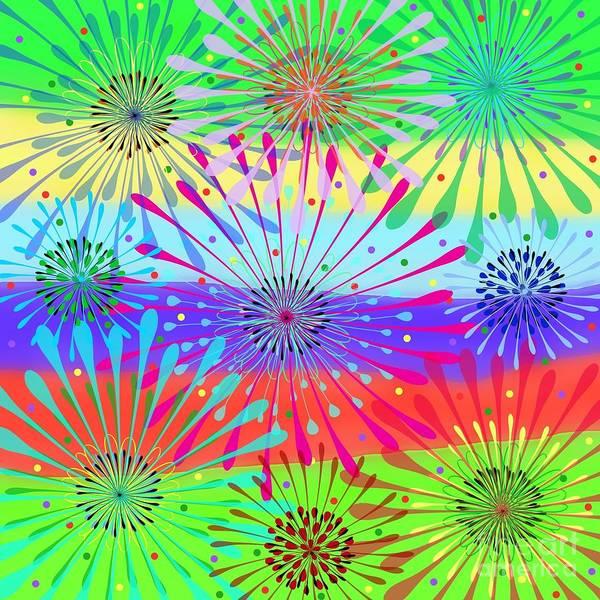 Digital Art - Color Cornucopia by Diamante Lavendar