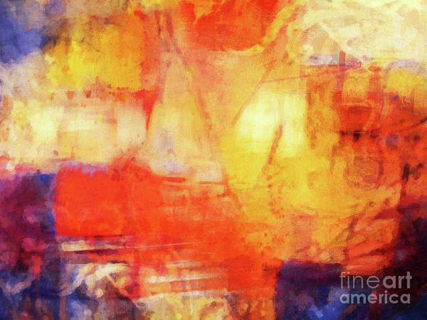 Cosmos Painting - Color Cosmos by Lutz Baar