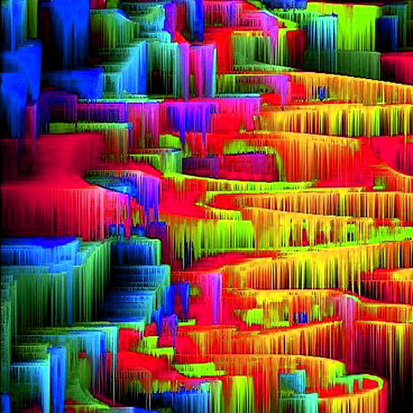 Wall Art - Digital Art - Color Drop by Lynn Dixon