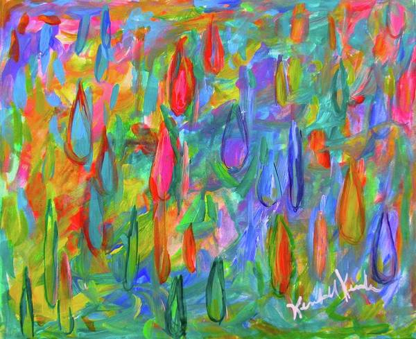 Painting - Color Drops by Kendall Kessler