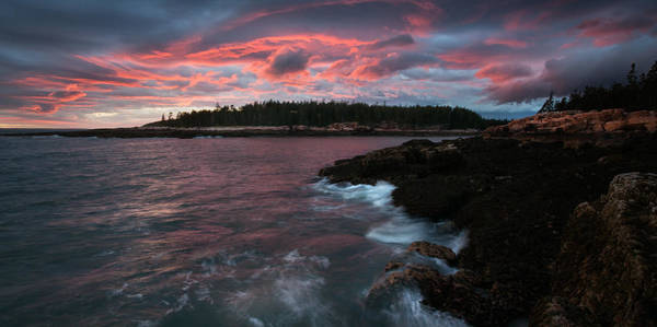 Photograph - Color Explodes Over Ship Harbor by Darylann Leonard Photography