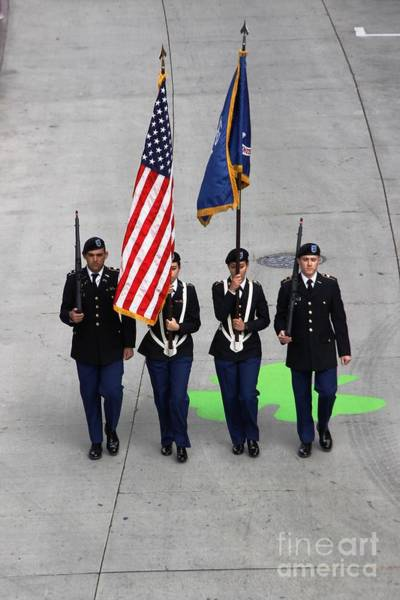 Photograph - Color Guard by Richard Lynch