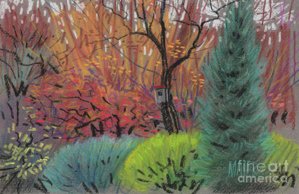 Autumn Drawing - Color Harmony by Donald Maier