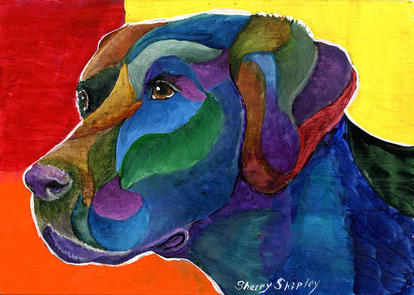 Painting - Color Lab by Sherry Shipley