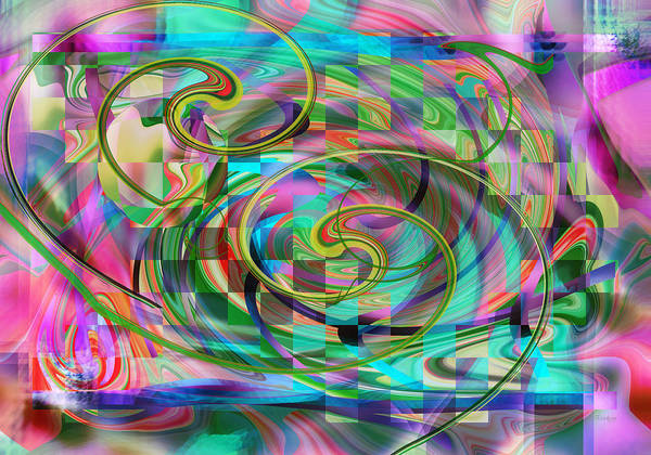 Digital Art - Color Me Easter by rd Erickson