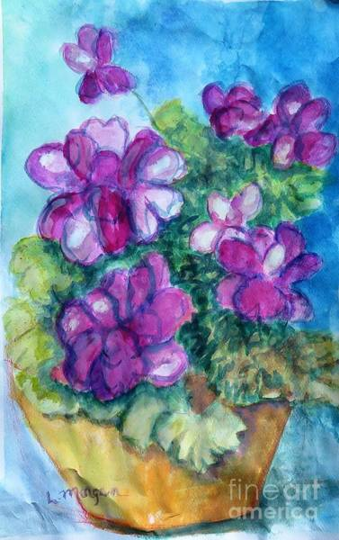 Painting - Color Me Purple by Laurie Morgan