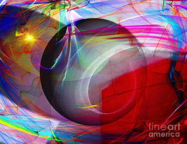 Digital Art - Color Of A Shadow by Edmund Nagele