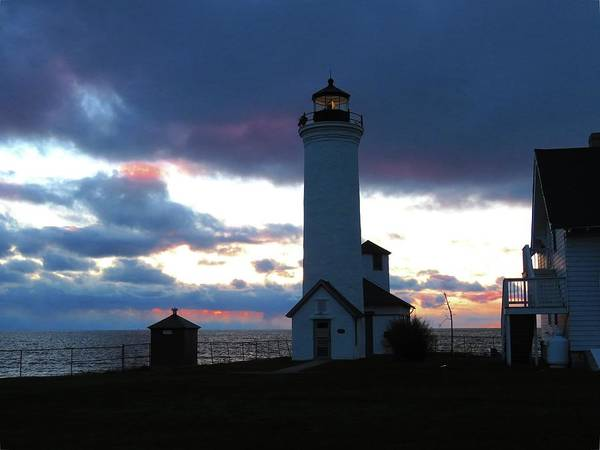 Color Of December, Tibbetts Point Lighthouse Art Print