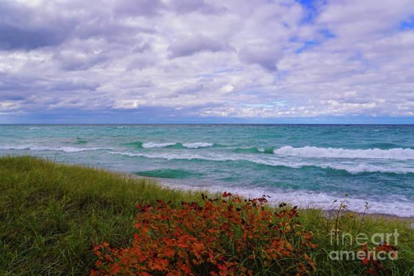 Photograph - Color On Lake Superior by Rachel Cohen