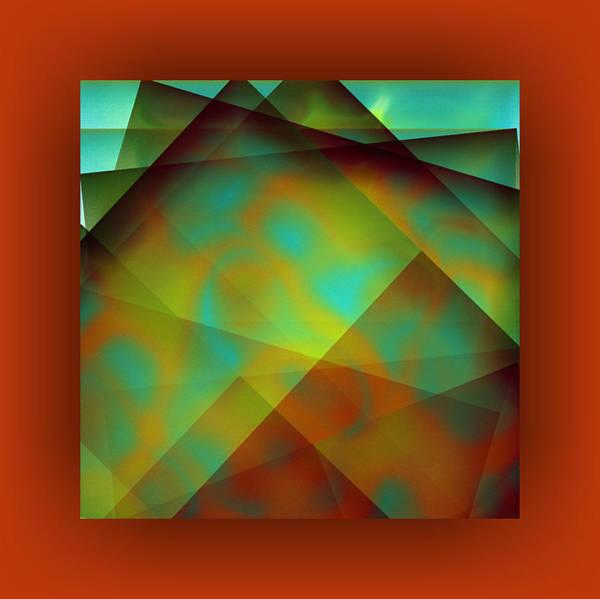 Wall Art - Digital Art - Color Package - Orange by Mihaela Stancu