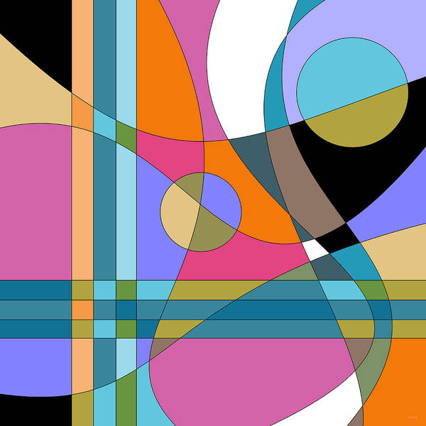 Digital Art - Color Play by Val Arie