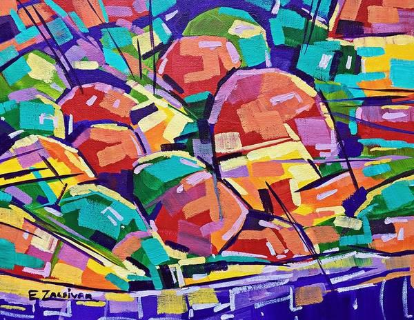 Color Salad Art Print