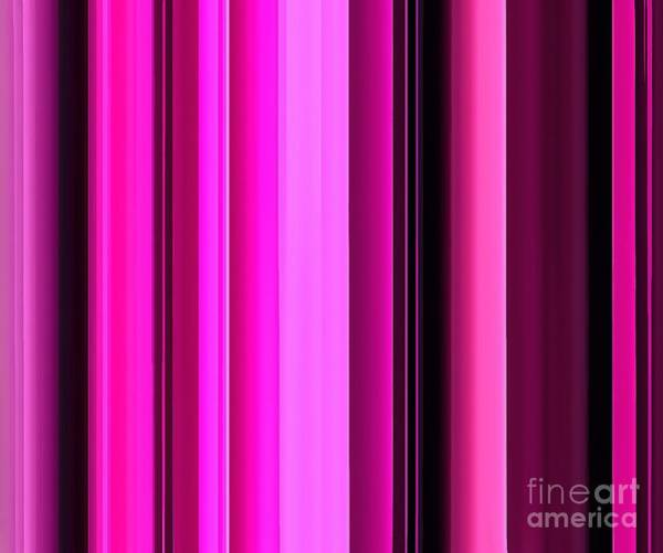 Vertical Line Digital Art - Color Shades by Krissy Katsimbras