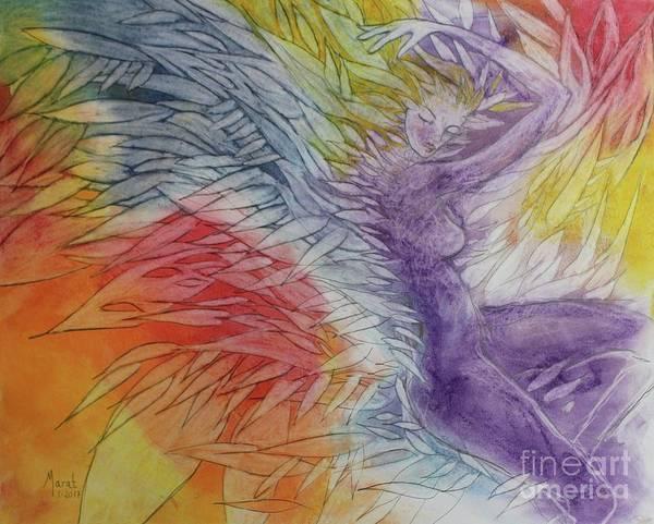 Drawing - Color Spirit by Marat Essex