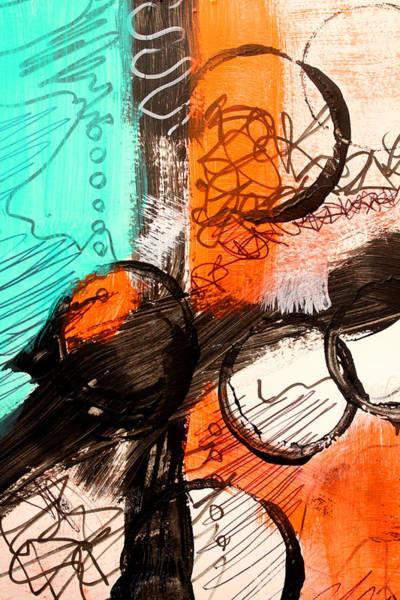 Scribble Painting - Color Swatch 1 by Nancy Merkle