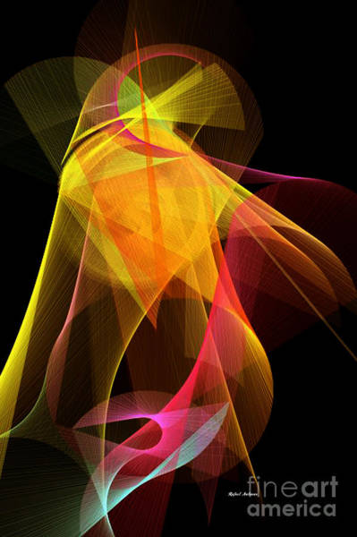 Digital Art - Color Symphony 10 by Rafael Salazar