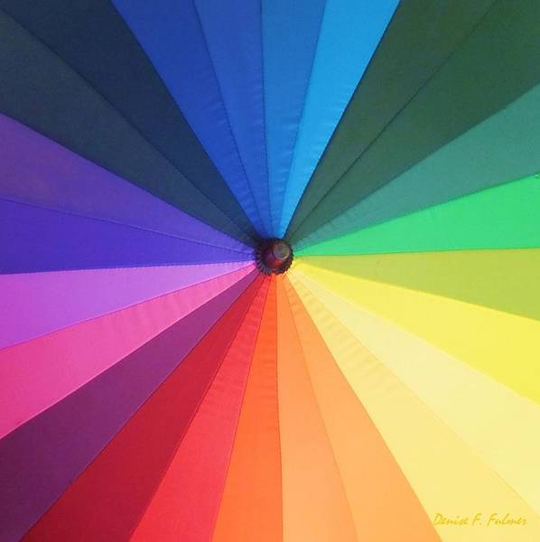 Photograph - Color Wheel by Denise F Fulmer