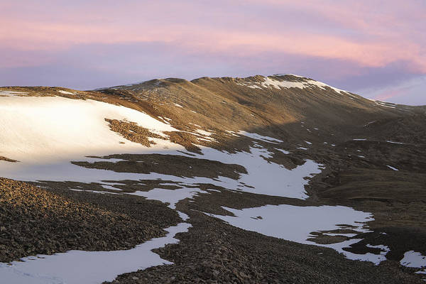 Fourteener Photograph - Colorado 14er Mt. Sherman by Aaron Spong