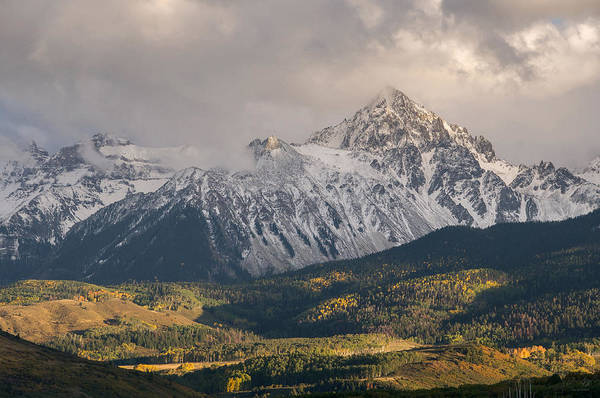14er Photograph - Colorado 14er Mt. Sneffels by Aaron Spong
